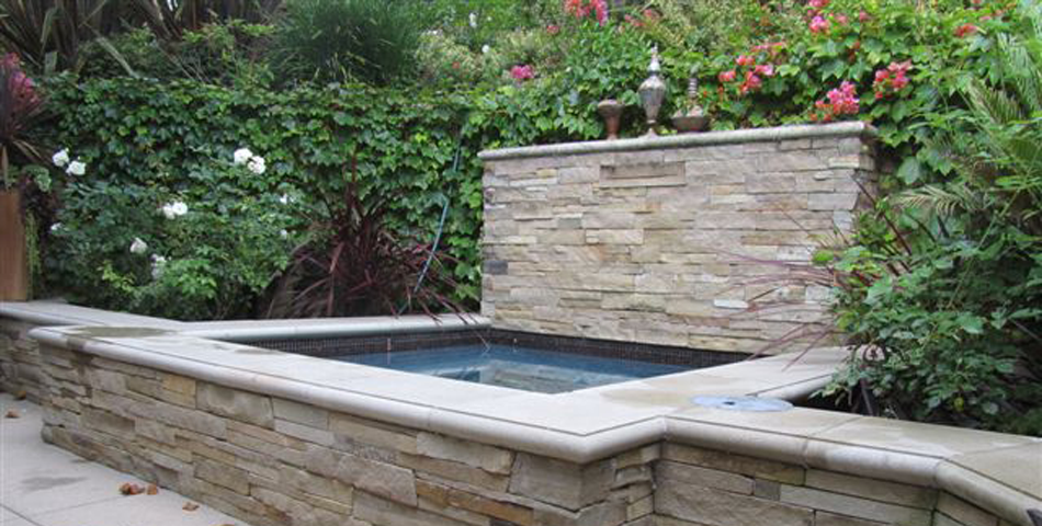 Spa Addition and Waterfeature - Via Olivera Project #3